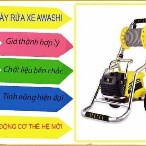 Máy rửa xe chất lượng cao Awashi AS 2400 có chỉnh áp
