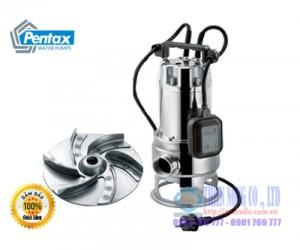 BƠM CHÌM NƯỚC THẢI INOX PENTAX DX100 G2