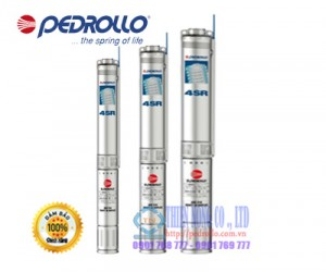 Máy bơm hỏa tiễn 4 inch PEDROLLO 4SR15/24-PD 10HP