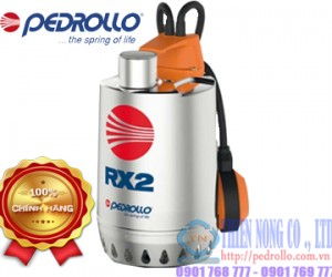 Máy bơm nước thải thả chìm Pedrollo RXm 3
