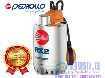 Máy bơm nước thải thả chìm Pedrollo RXm 2