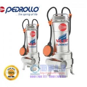 BƠM CHÌM NƯỚC THẢI INOX TOÀN PHẦN PEDROLLO VXm10-35-ST