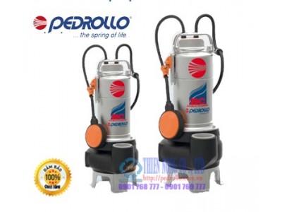 BƠM THẢ CHÌM NƯỚC THẢI INOX PEDROLLO BCM15/50-N